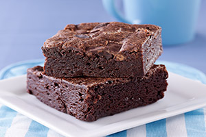 brownie sin huevo